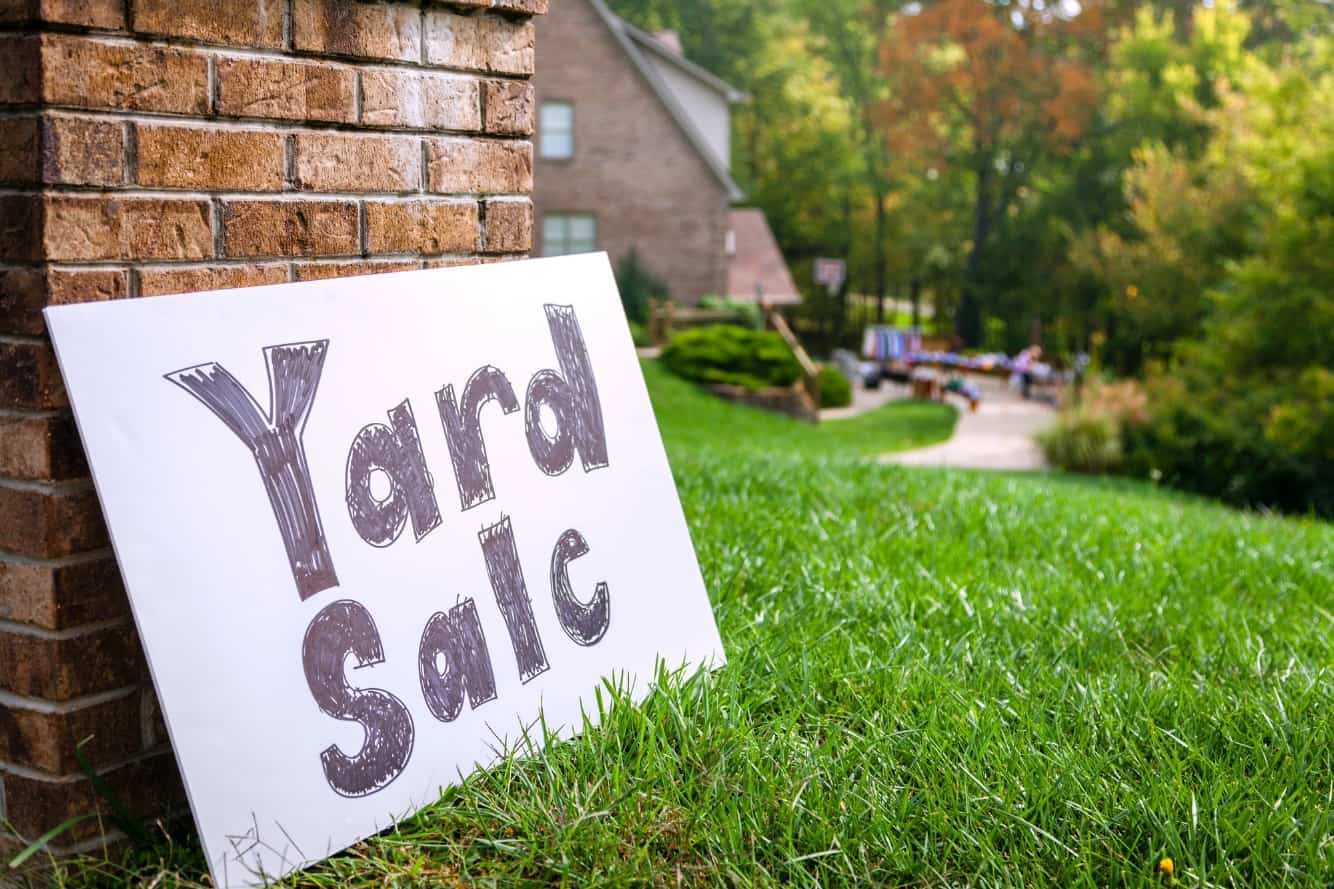 Put up a sign in Your Yard